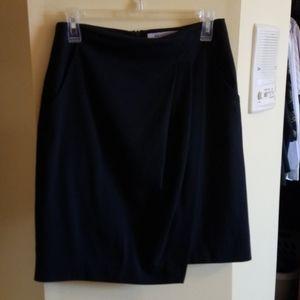 Mm Lafleur faux wrap skirt